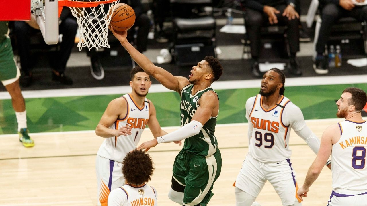"""""""It's a compliment that there's got to be three people stopping me"""": Giannis Antetokounmpo reveals his honest opinions on opponents playing the """"Giannis Wall"""" defense"""