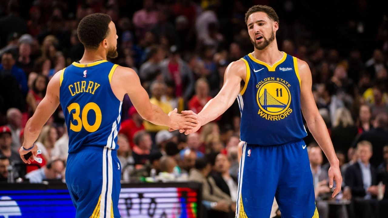 """""""It depends whether Klay Thompson wanted to play with Rocco or not"""": Andre Iguodala spills the beans on who's the better shooter amongst Stephen Curry and his Splash brother"""