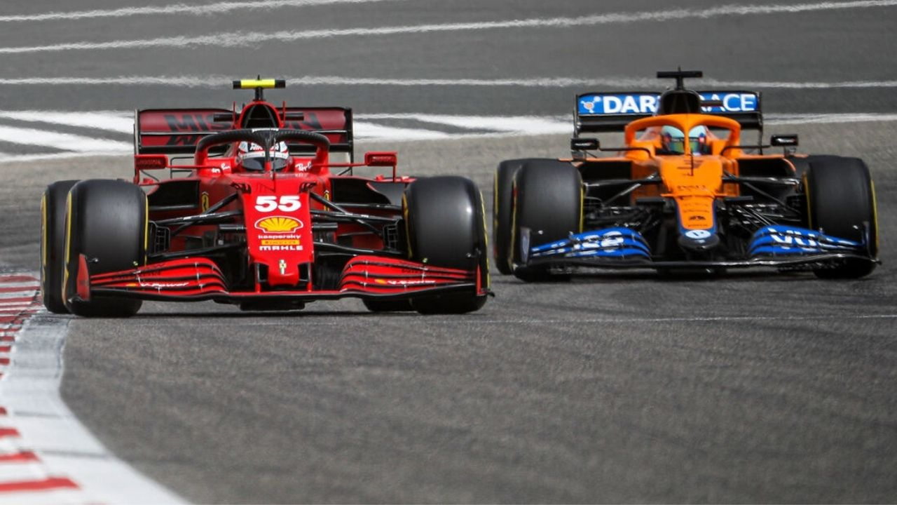 """""""One of the most difficult cars to overtake""""– Carlos Sainz on competing against McLaren"""