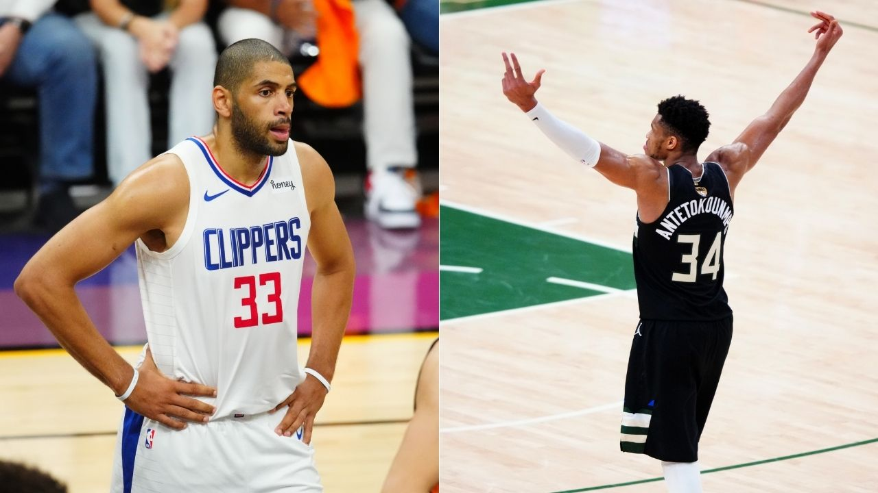 """""""If I become Nicolas Batum, I'm going back to Greece"""": NBA Fans react to Giannis being affronted by Nic Batum comparisons, reference famous Michael Jordan 'Took it Personally' meme"""