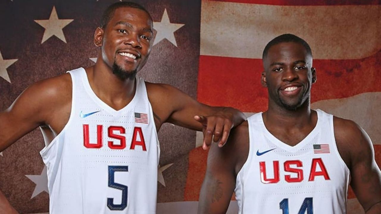 """""""Knowing Kevin Durant, you'd have to talk him out of playing"""": Team USA forward Draymond Green shares he had no doubt about KD's availability for the Olympics"""