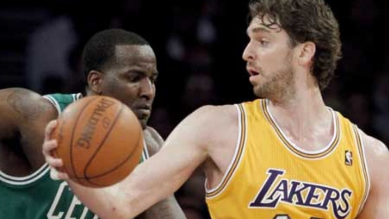 """""""Played with a dislocated shoulder and locked up Pau Gasol"""": Kendrick Perkins boasts about having bested Kobe Bryant and the Lakers in the 2008 Finals with the Celtics"""