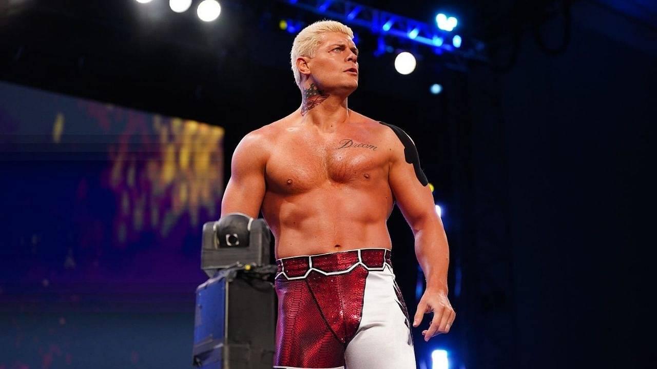 Cody Rhodes names WWE Superstar as his favorite wrestler