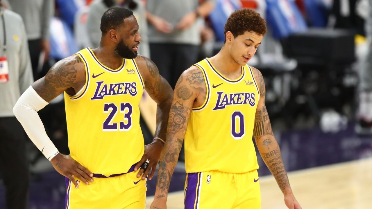 """""""LeBron James doesn't get along with Kyle Kuzma"""": Lakers star looking to part ways with the 'King' according to NBA insider"""