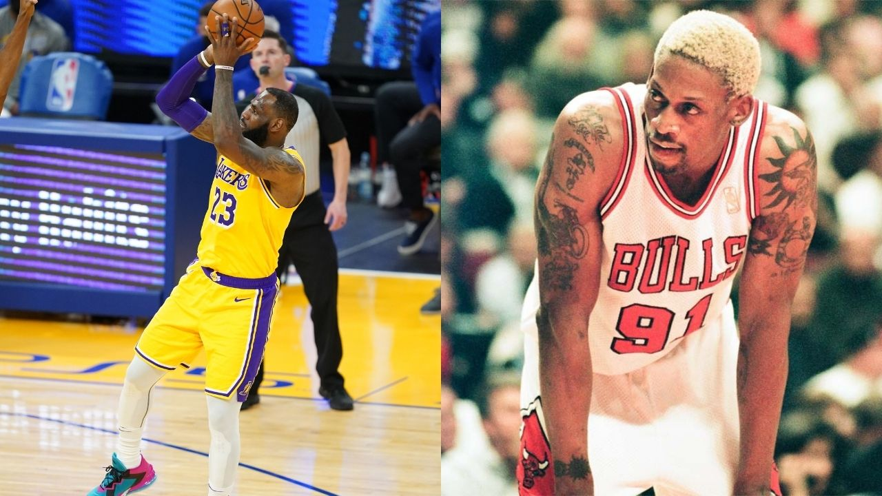 """""""LeBron James is so easy to play, he only attacks in straight lines"""": Dennis Rodman has some damning criticisms of the Lakers star's style of play"""
