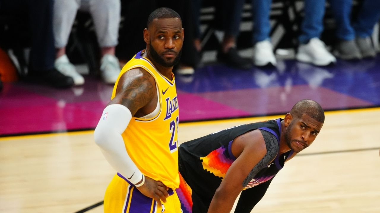"""""""Chris Paul was at the hospital when Bryce James was born"""": LeBron James is backing Suns superstar to win his first NBA championship ahead of Finals Game 4 vs Bucks"""