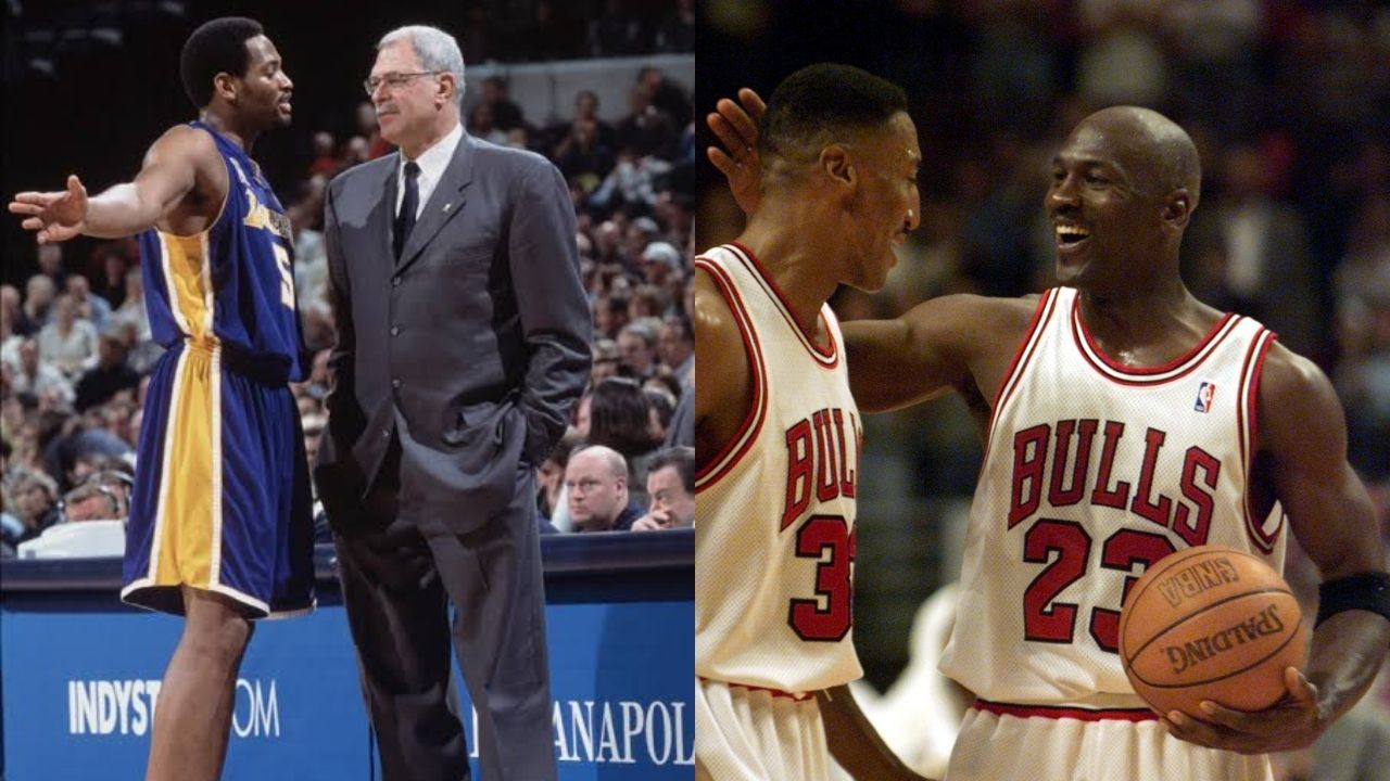 """""""Phil Jackson called himself 'our master'"""": Robert Horry disagrees with Scottie Pippen on the former Lakers head coach being racist but was irked by his 'master' comments"""
