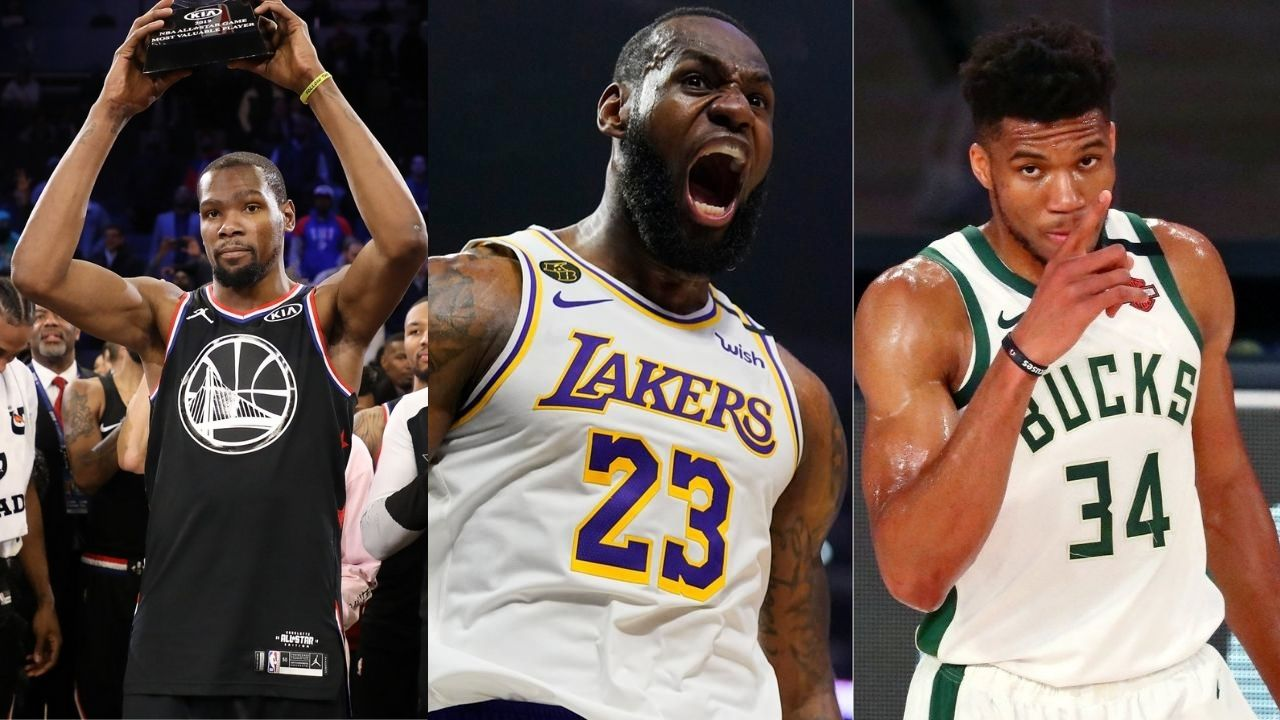"""""""How is that his girlfriend if 3 other dudes kissing her?"""": Shannon Sharpe and Skip Bayless debate if LeBron James is still the best player over Giannis Antetokounmpo and Kevin Durant"""