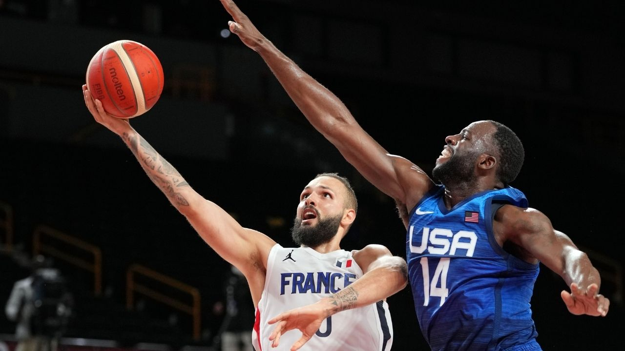 """""""Evan Fournier was clearly the focal point for France"""": ESPN analyst warns Team USA to function more like a normal basketball team with an offensive pecking order after shock loss at Tokyo 2020"""