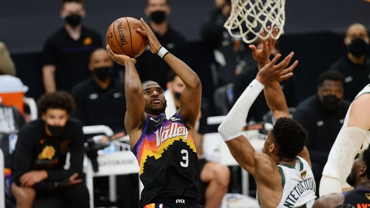 """CP3 needs CPR"": Kendrick Perkins compliments Chris Paul for his clutch 4th quarter despite Suns' NBA Finals Game 5 loss vs Milwaukee Bucks"