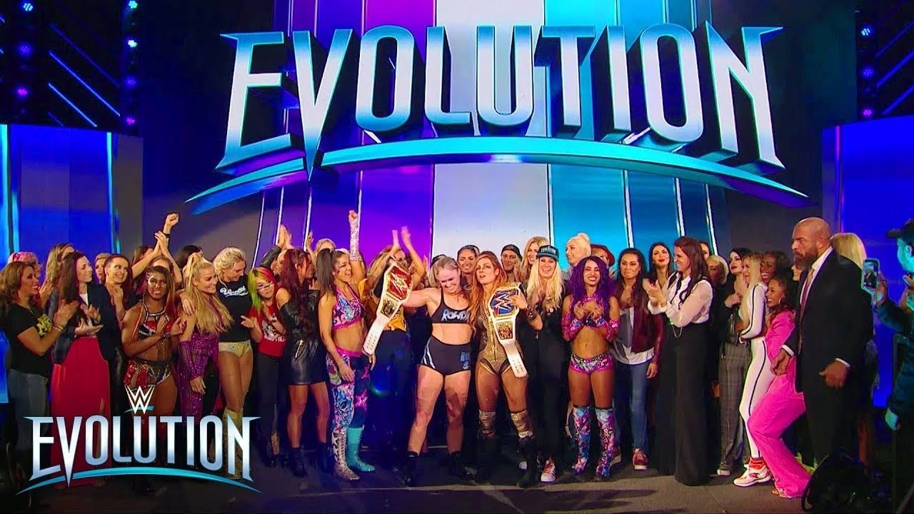 Mickie James says Evolution was set up to fail by WWE