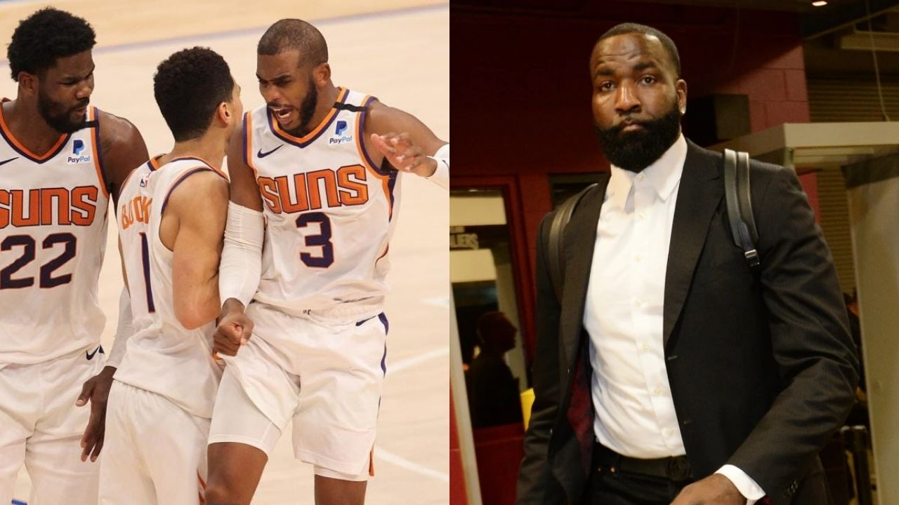 """""""The Bucks earned that win and it had NOTHING to do with the officiating"""": Kendrick Perkins goes off about Chris Paul and the Suns blaming Scott Foster for Game 3"""