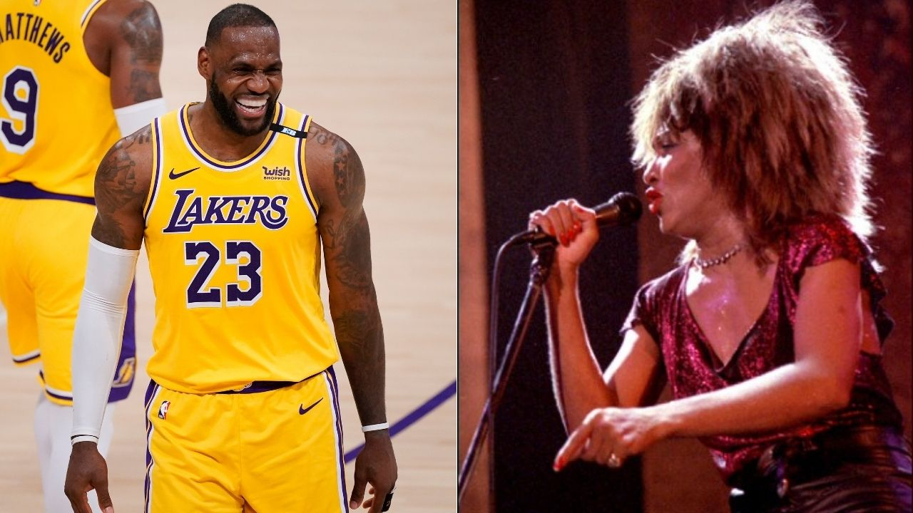 """""""I want to meet Tina Turner"""": LeBron James expresses his wish to meet the legendary Queen of Rock-n-Roll in a tweet"""