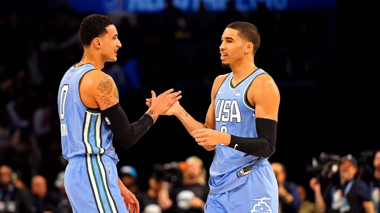 """""""Kyle Kuzma is on the same level as Jayson Tatum"""": NBA insider says the Lakers star believes he's in the same stratosphere as Celtics superstar"""