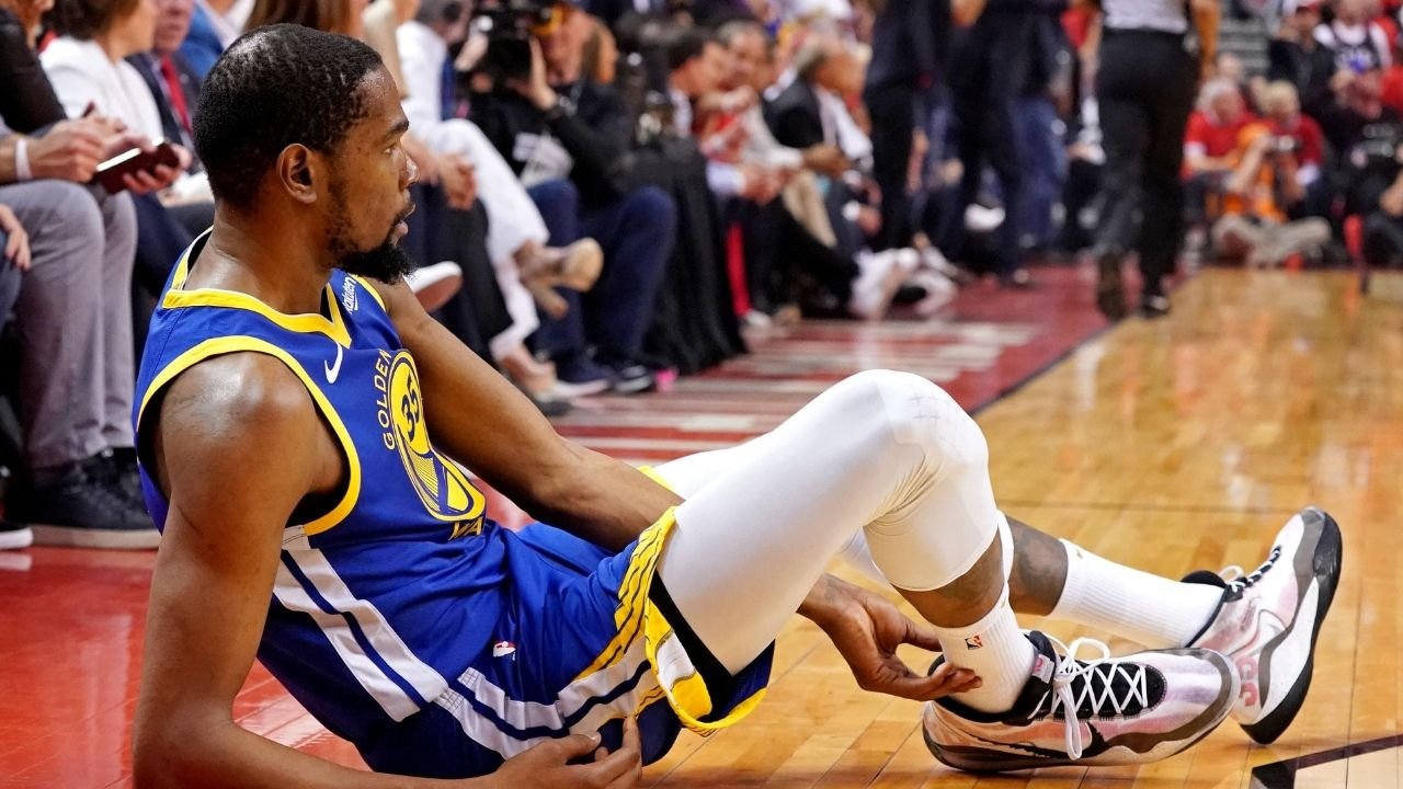 """""""An injury could seep in and f*** s*** up"""": When Kevin Durant foreshadowed his own Achilles tear with Warriors in 2019 playoffs on the No Chill Podcast with Gilbert Arenas"""
