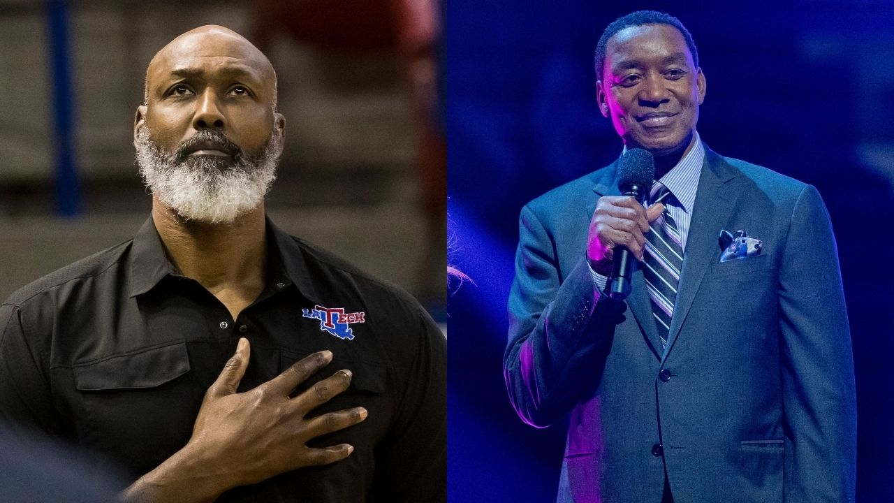 """""""Karl Malone elbowed every superstar in NBA history"""": When Isiah Thomas had to receive 40 stitches after being elbowed by the 'Mailman'"""