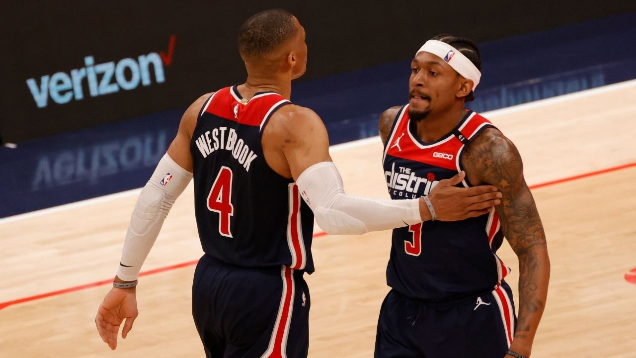 """""""Bradley Beal, you have to trade Russell Westbrook"""": Wizards superstar admits to getting heckled during Team USA's blowout win over Argentina"""