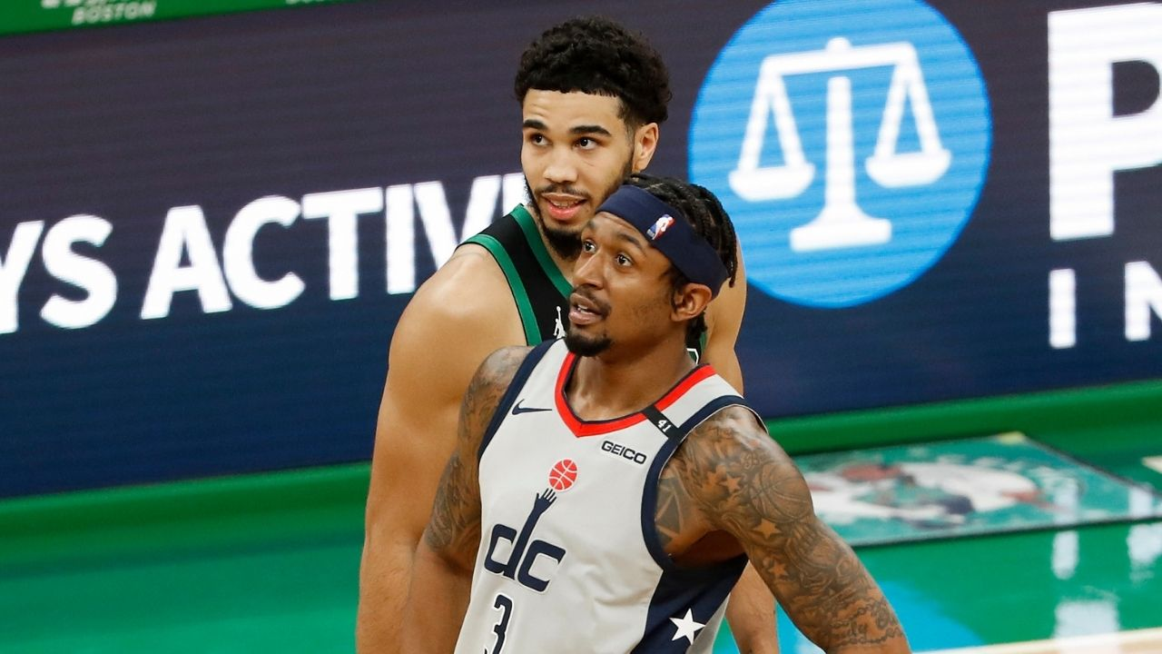 """""""Probably a lot"""": Bradley Beal coyly spurs trade rumors as he joins Chaminade understudy Jayson Tatum in Team USA Basketball camp ahead of Tokyo 2020"""