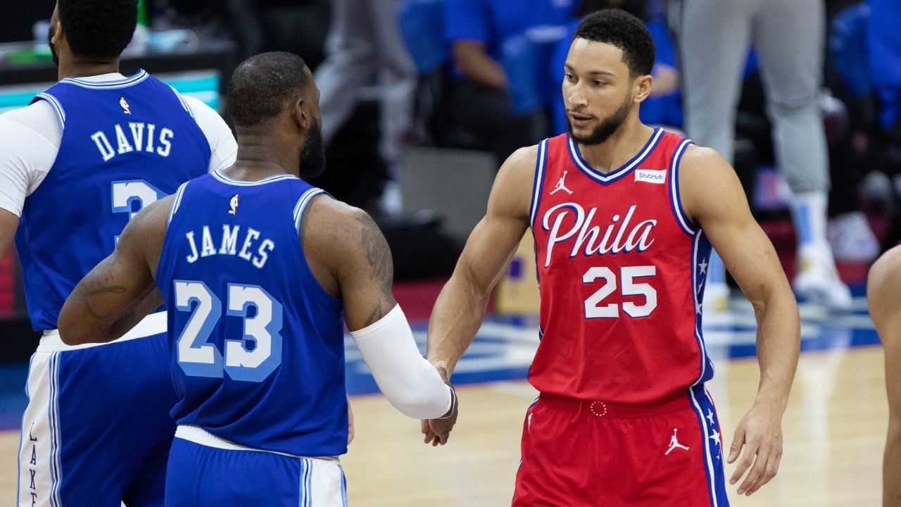 """""""LeBron James would tell Ben Simmons to switch hands"""": Channing Frye urges Sixers star to start shooting with his right hand after playoff shooting struggles"""