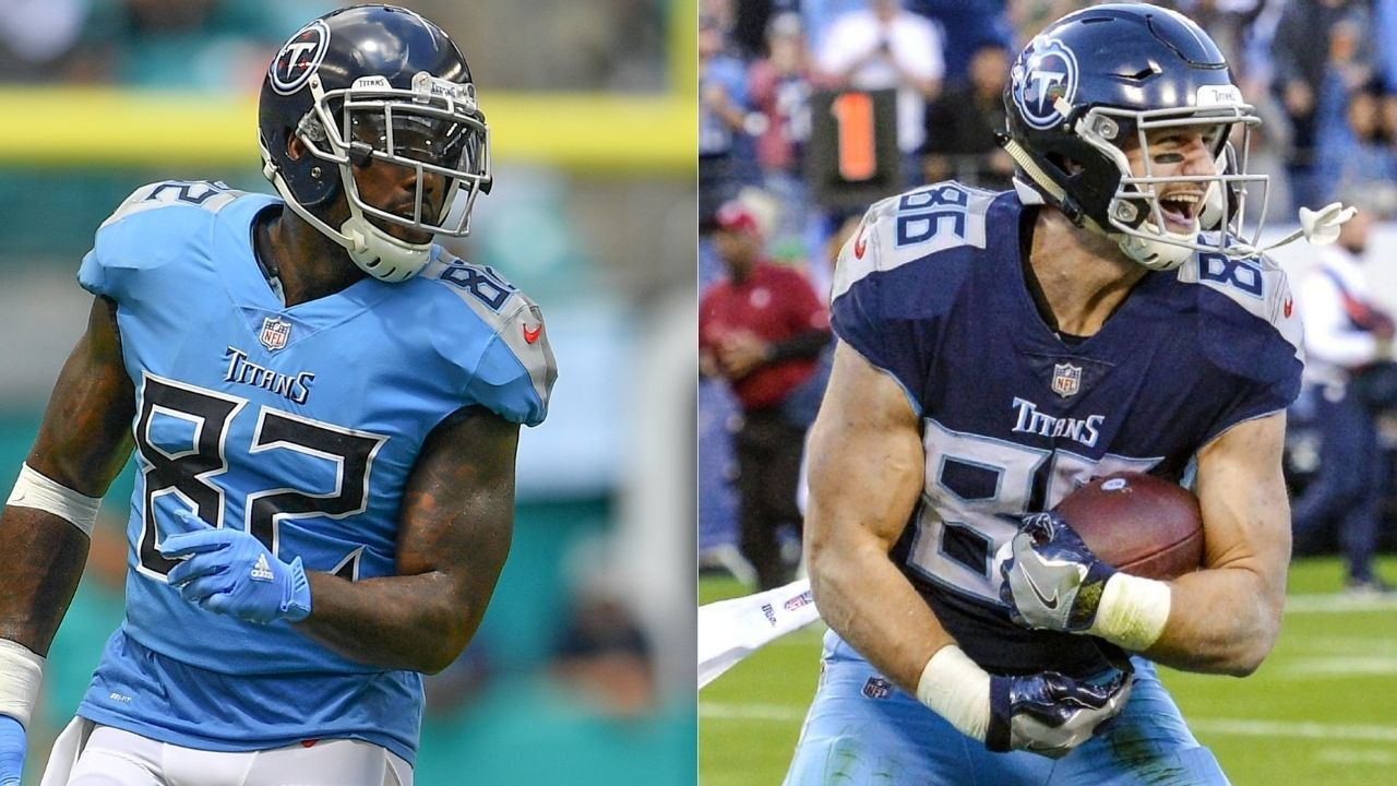 """""""He destroys linebackers within seconds. It's gonna be good."""" Former Tennessee Titans TE Delanie Walker believes Anthony Firkser will have a breakout season in 2020."""