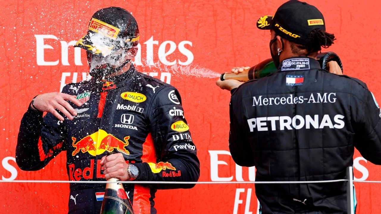 """Not the final push""– Lewis Hamilton banters against Max Verstappen on Instagram"