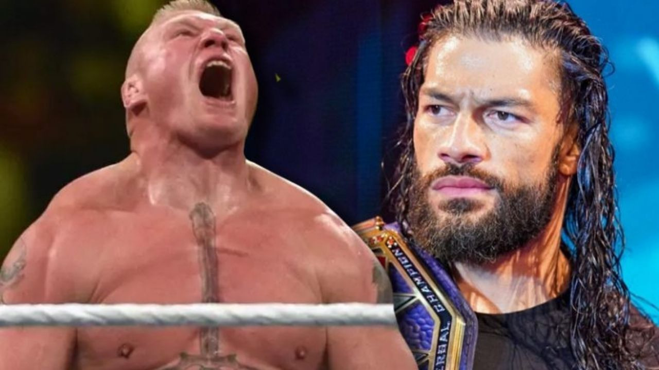 Possible reason why Roman Reigns mentioned Brock Lesnar on SmackDown
