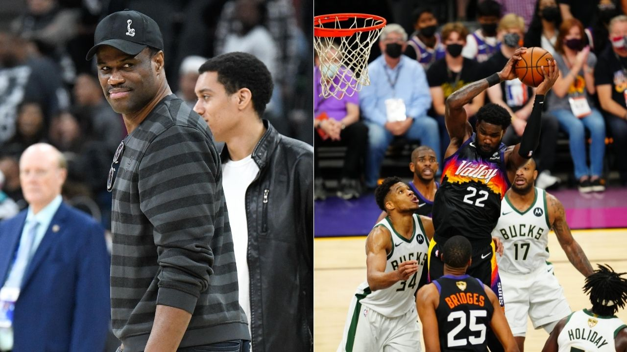 """""""Deandre Ayton is David Robinson 2.0"""": Kendrick Perkins outdid himself with another legendarily bad take ahead of Suns vs Bucks Game 2"""