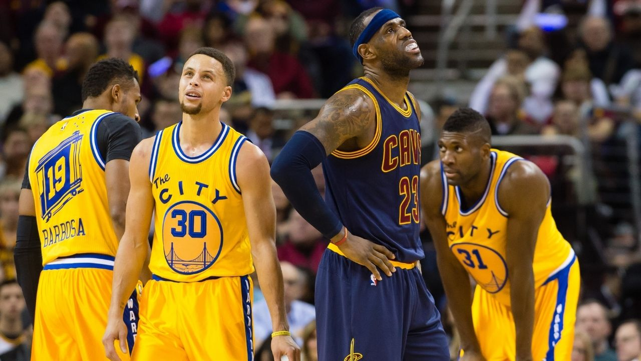 """""""You slow down Stephen Curry the same way you slow me down... You can't"""": When LeBron James gave the Warriors star the best possible compliment"""