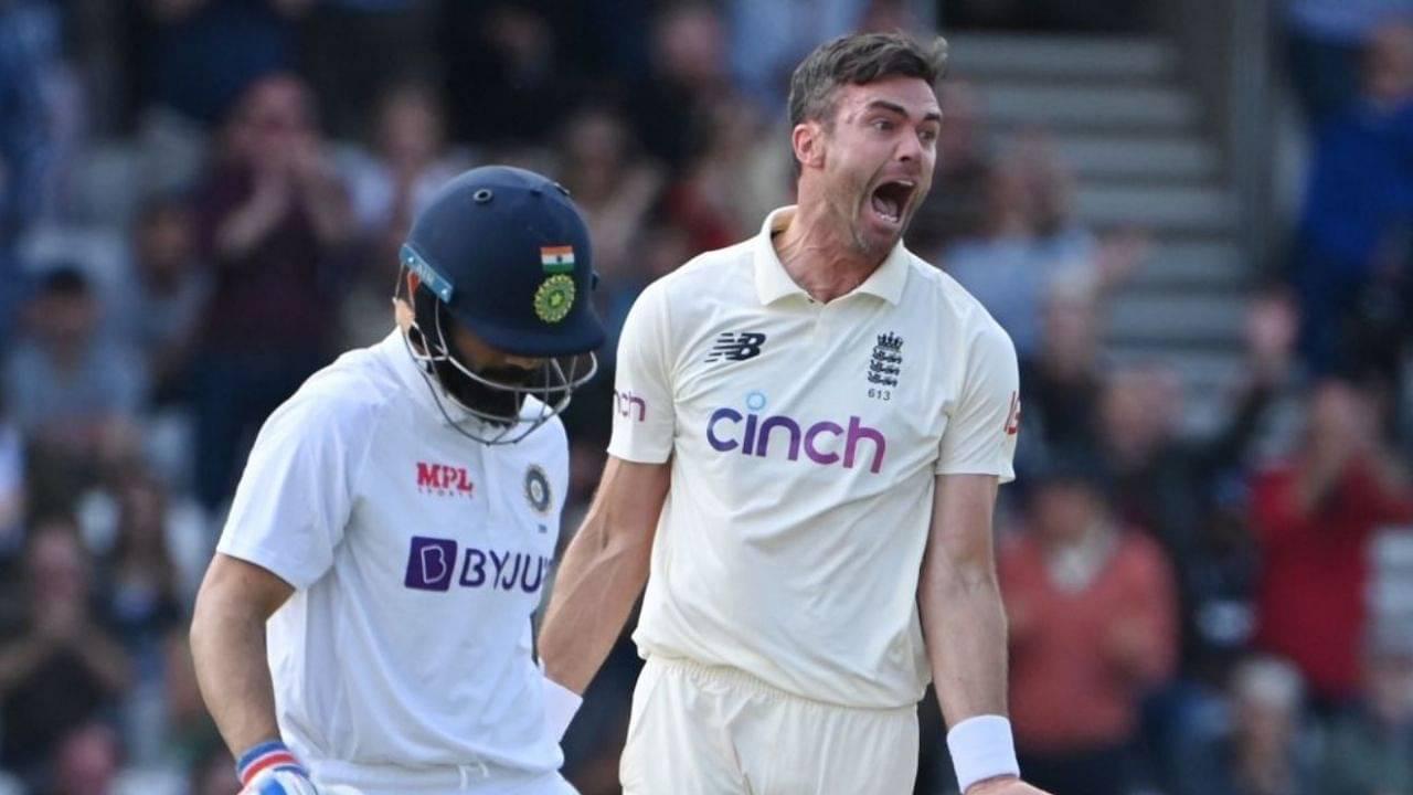 Virat Kohli last 10 Test innings runs   Virat Kohli wicket today   Kohli vs Anderson stats
