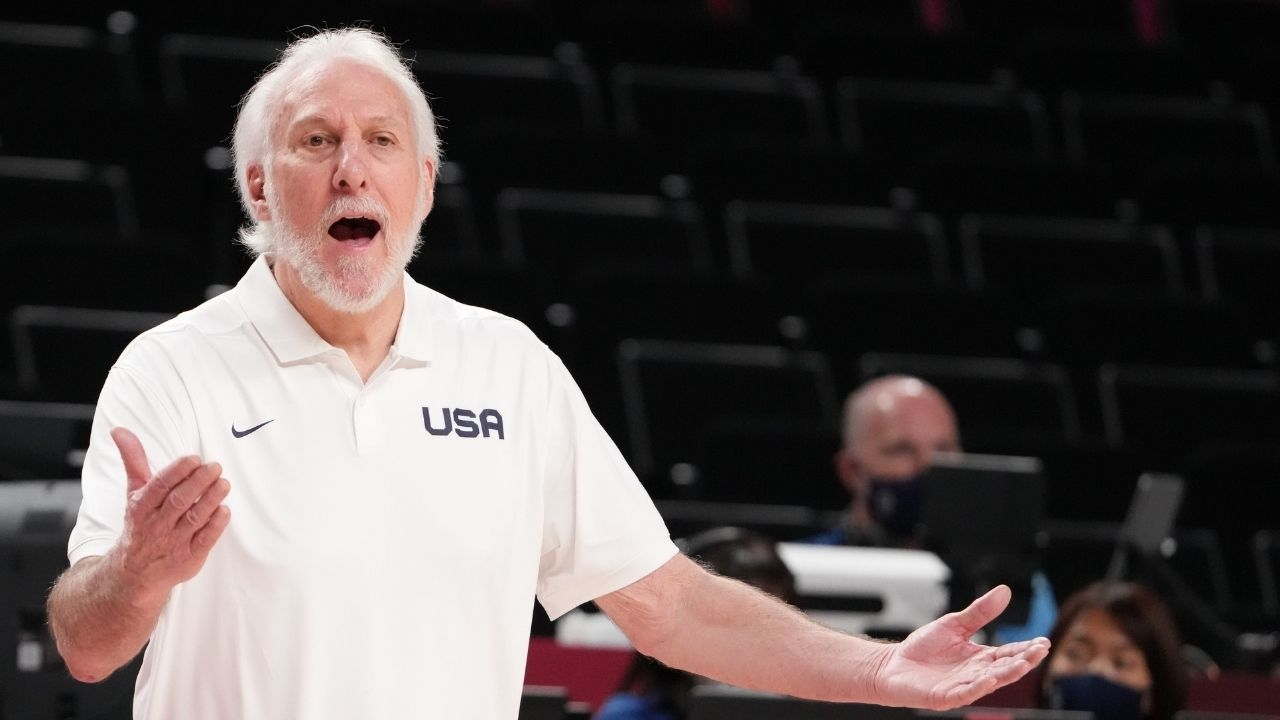 """""""I wouldn't touch that question with a 10-foot pole"""": Team USA Head Coach Gregg Popovich has a hilarious reply when asked whether he would like France or Slovenia in the Gold-medal game"""