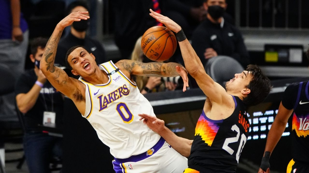 """""""Kyle Kuzma ain't a Laker and Winnie Harlow doesn't like DC"""": NBA Twitter mocks supermodel for ditching Kuz after his move to Washington"""