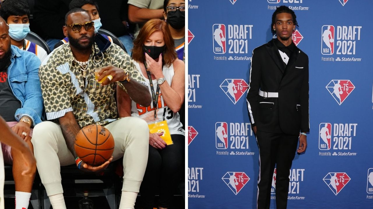 """""""Just Enjoy the process"""": LeBron James gives his nephew Ziaire Williams some important advice about NBA life after the Grizzlies drafted him"""