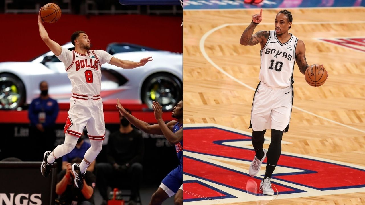 """""""I don't think anybody on Chicago Bulls is selfish"""": Zach LaVine addresses the recent doubts about his """"fit"""" with newest Bulls star DeMar DeRozan"""