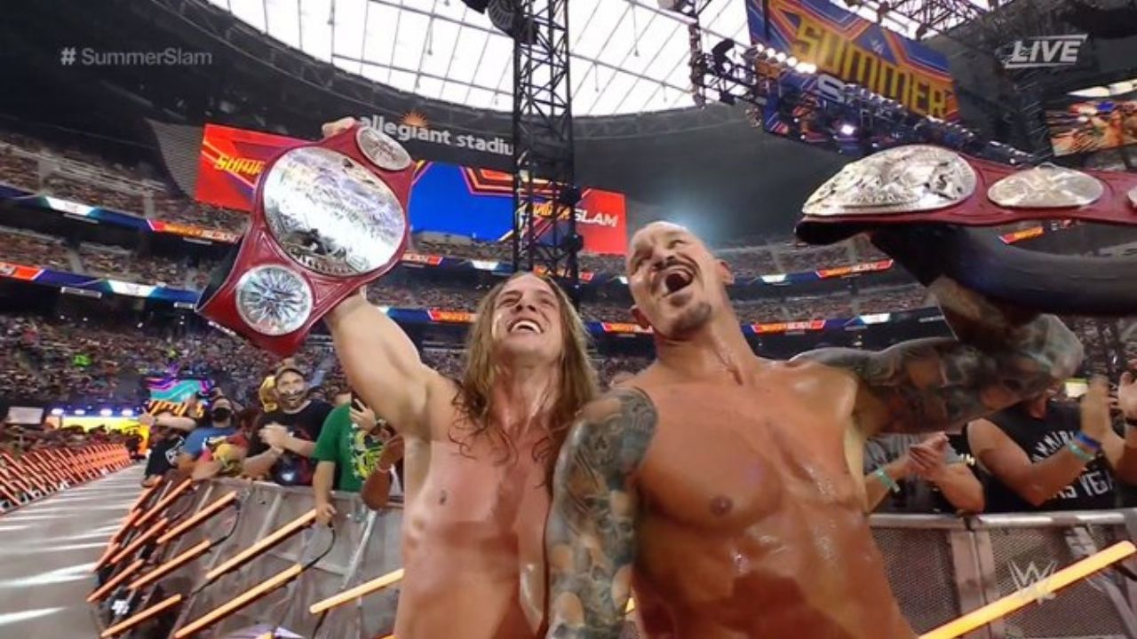 RKBro beat AJ Styles and Omos to clinch RAW Tag Team Titles at SummerSlam
