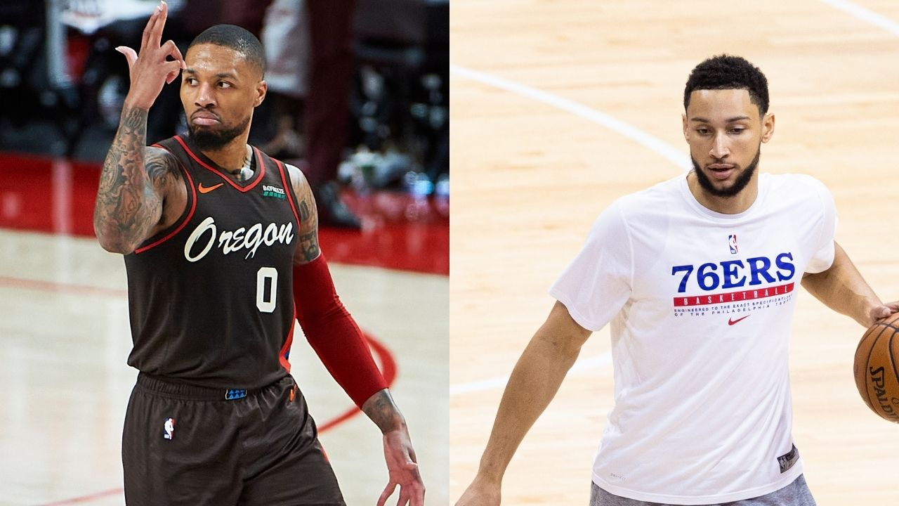 """""""Ben Simmons will be the centerpiece of a Damian Lillard trade"""": Sixers reportedly 'hesitant' to deal with Warriors or Spurs in hopes to land Blazers superstar"""