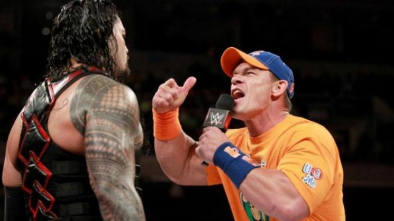 Roman Reigns discusses his feud with John Cena back in 2017