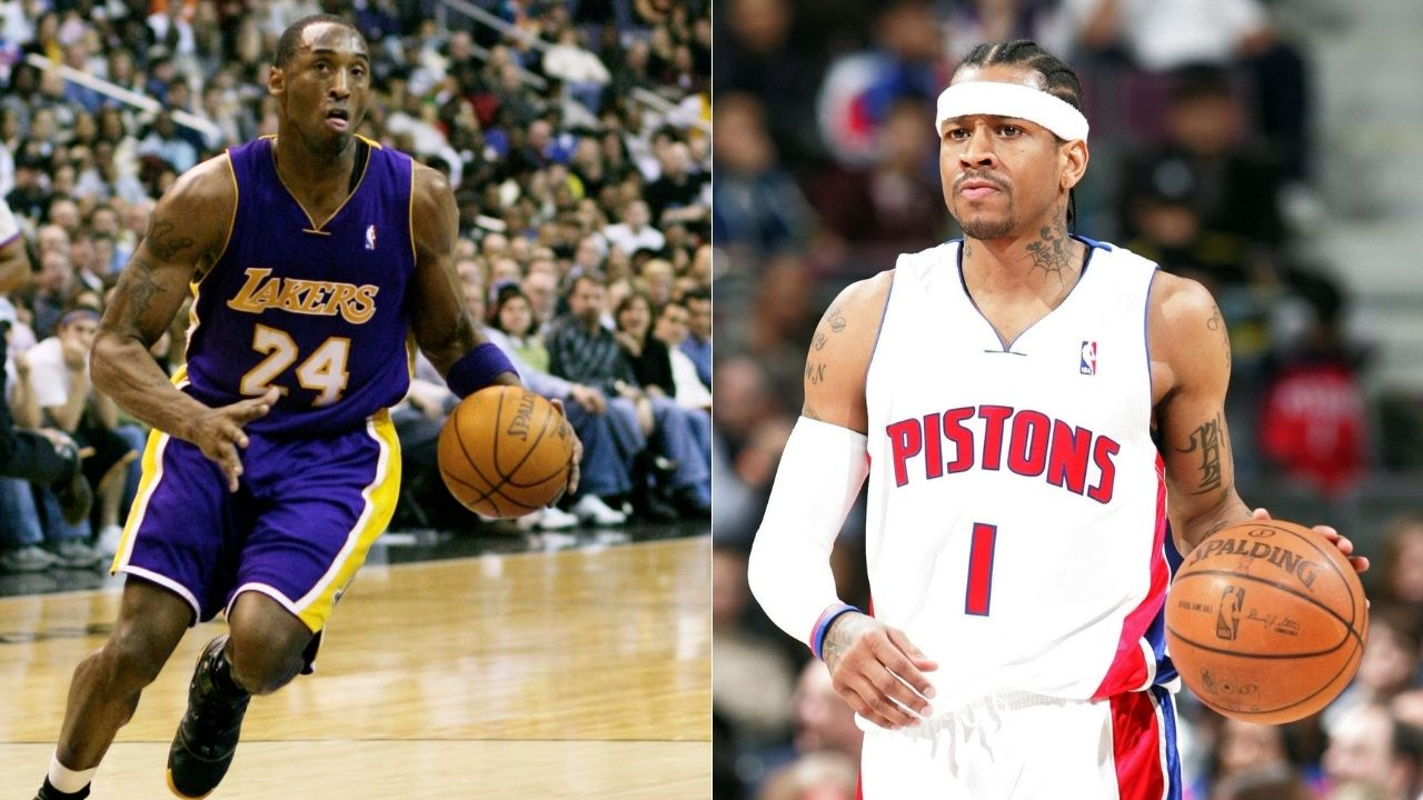 """'We're fortunate that Allen Iverson isn't 6'5""""': When Kobe Bryant paid the ultimate compliment to his Sixers nemesis after the Lakers legend's retirement"""