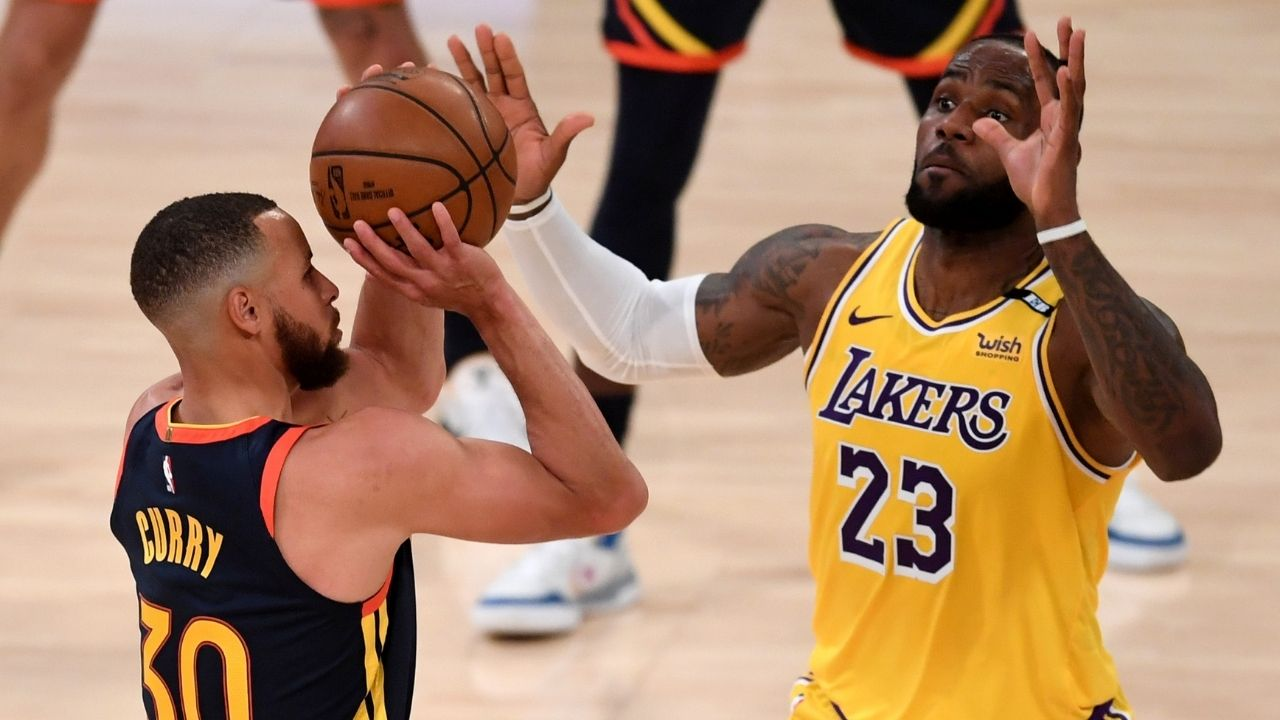 """""""LeBron James is so afraid of Stephen Curry, he assembled Team USA 2.0"""": Notorious Warriors superfan trolled by NBA fans for his asinine take regarding Lakers superstar"""