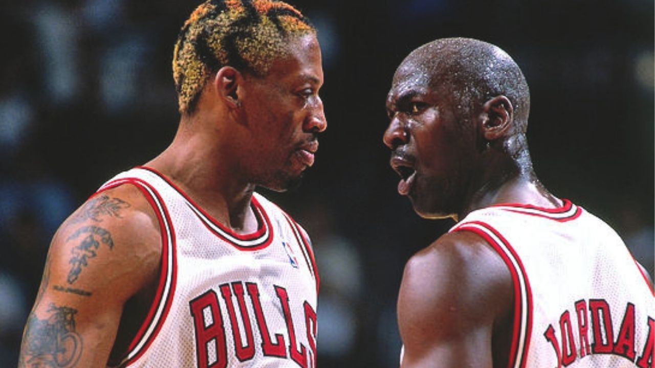 """""""Michael Jordan is going to sink the free throw anyway so why rebound"""": When Dennis Rodman had complete faith in the Bulls legend to come in clutch in Game 6 against the Jazz"""