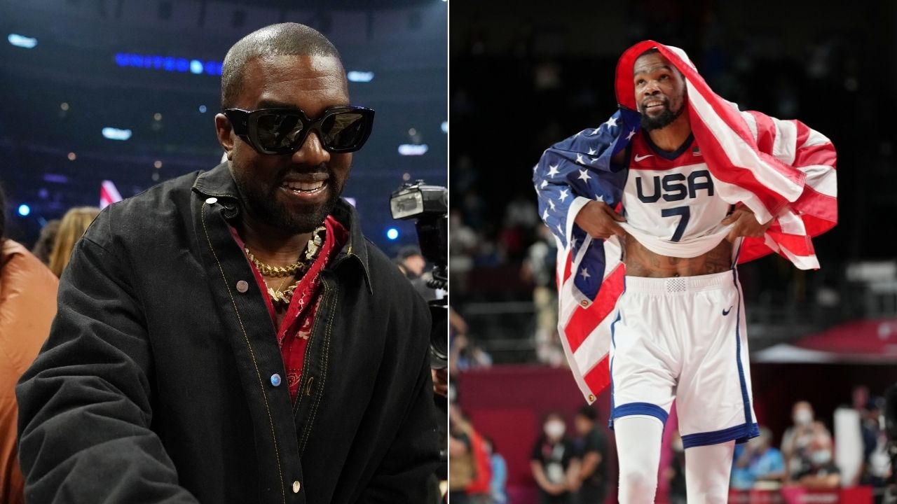 """""""Kanye West is a master at his craft"""": Kevin Durant reveals how he reviewed Donda during Olympics preparation"""