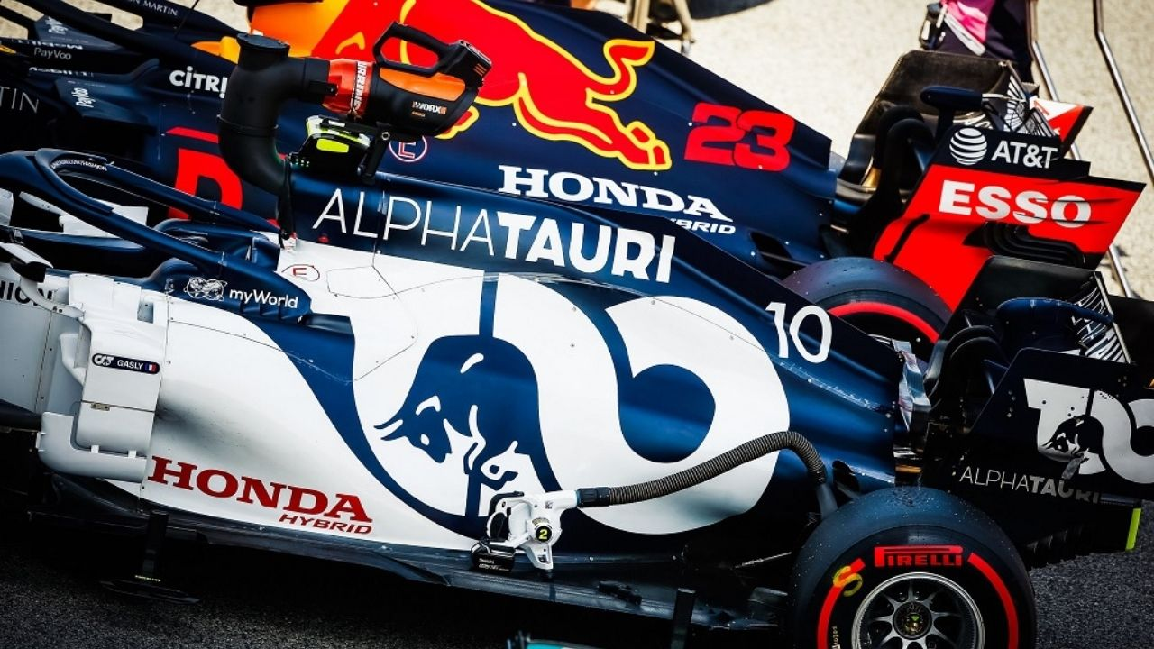 """""""Sometimes the McLaren, sometimes the Ferrari"""" - Pierre Gasly hoping for big things from AlphaTauri after best start to season"""