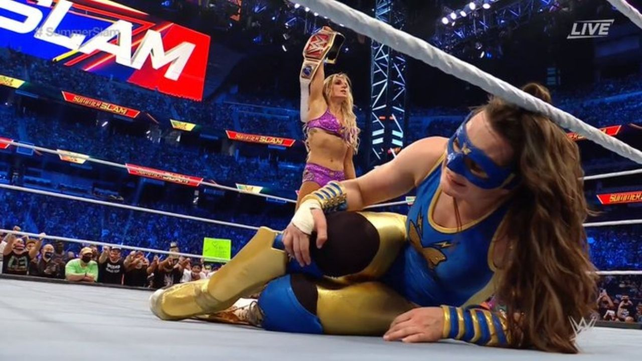 Charlotte Flair crowned new RAW Women's Champion at SummerSlam 2021