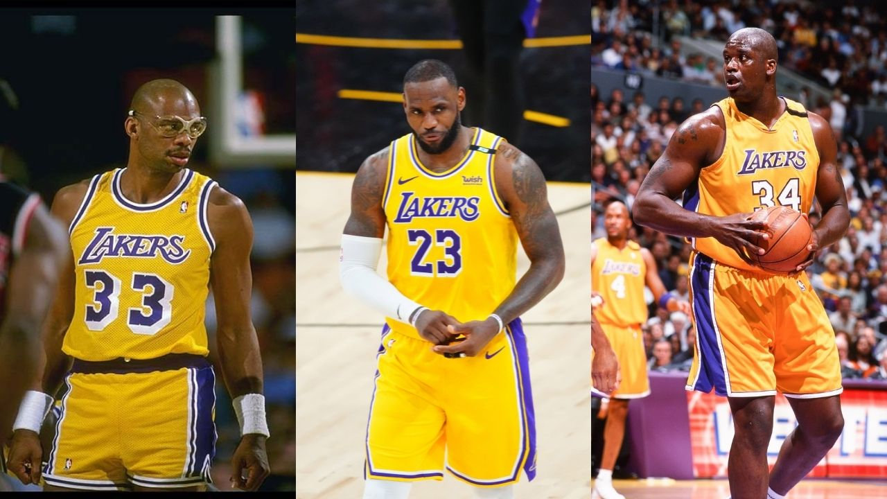 """""""LeBron James wants to pass Kareem Abdul-Jabbar to further his 'GOAT' status"""": Shaquille O'Neal divulges into the Lakers superstar's plans on surpassing Michael Jordan"""