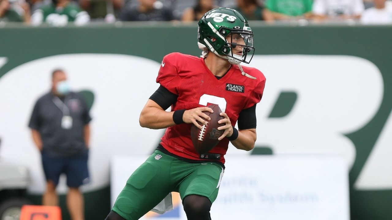 """""""Frustrated with myself"""": Zach Wilson opens up after struggling in first simulated NFL game at MetLife Stadium"""