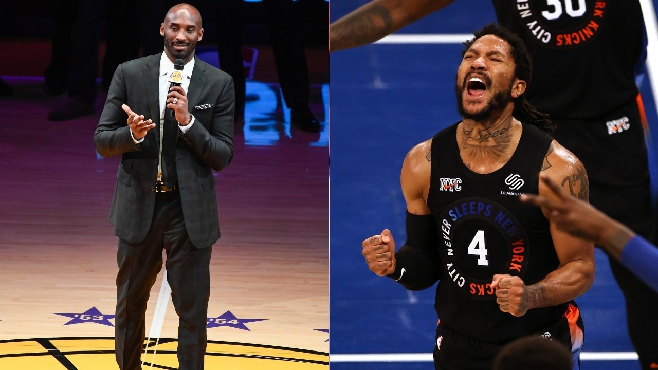 """""""I'm proud of Derrick Rose for improving his jumper"""": When Kobe Bryant gave props to Bulls' 2010-11 NBA MVP following his emergence as an elite all-round player"""
