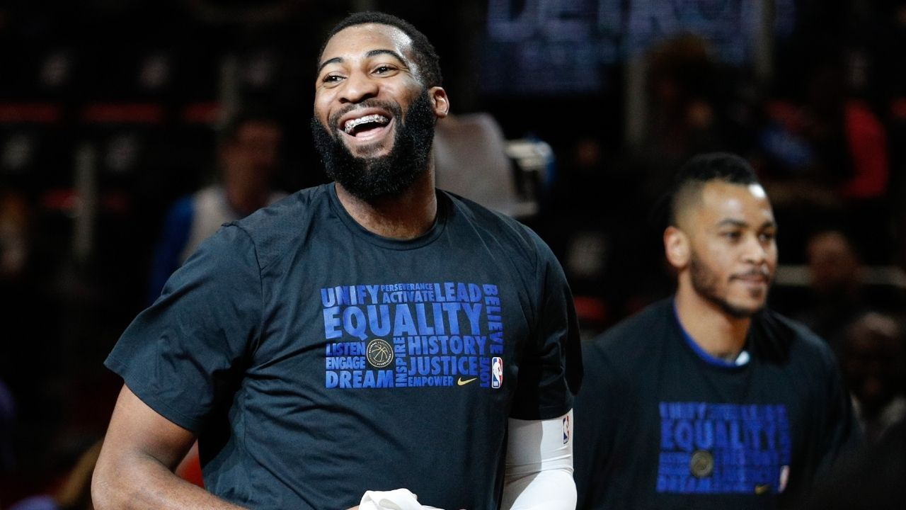 """""""Andre Drummond saves his 2-year old son from drowning"""": Former Lakers center shows great dad instincts to jump in a pool and rescue Deon Drummond"""