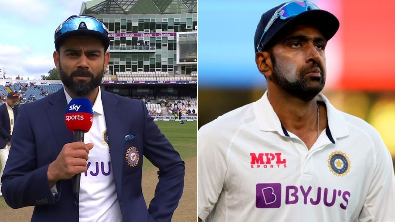 """""""Thought about getting Ashwin in"""": Virat Kohli explains why R Ashwin didn't make it to Indian XI in Leeds Test"""