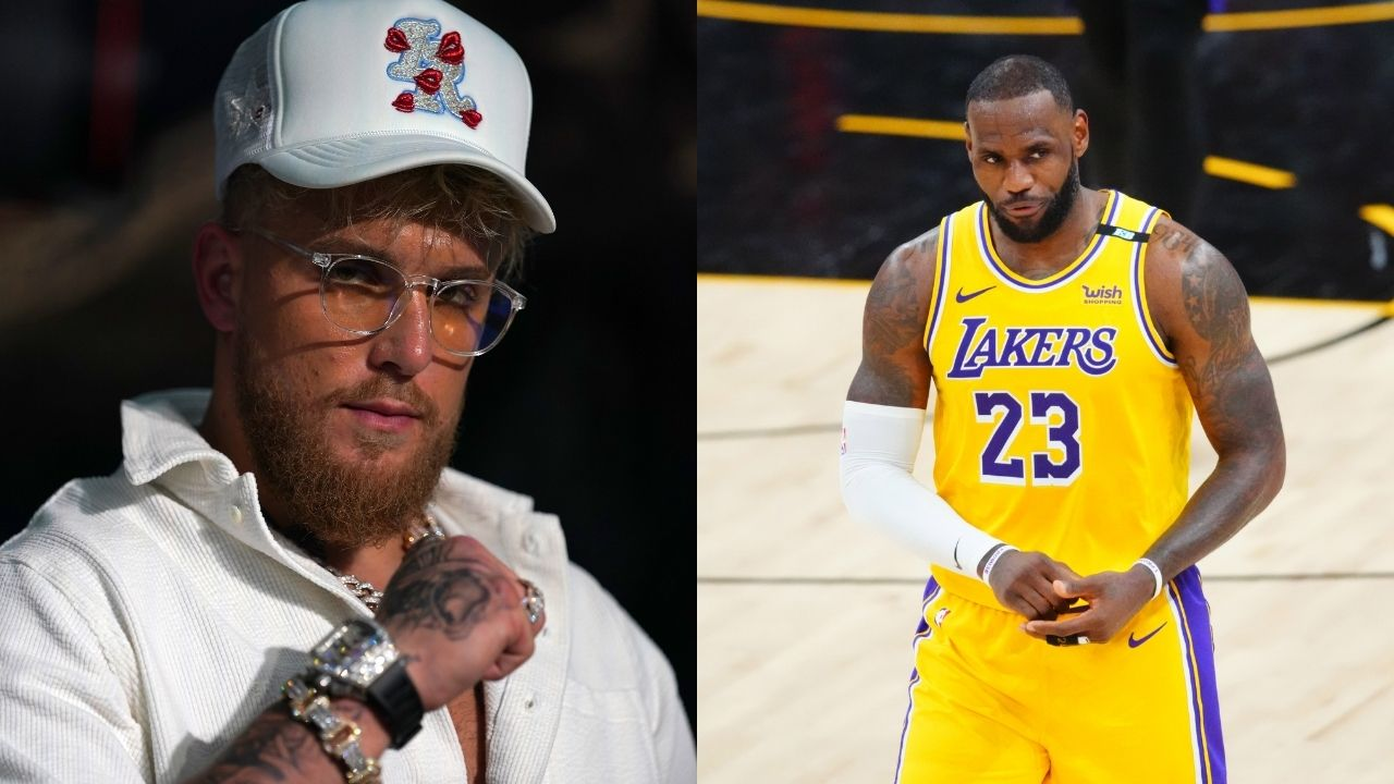 """""""The Jake Paul fight is entertaining as hell!"""": LeBron James and Kendrick Perkins take to Twitter to show their excitement for the Paul-Woodley fight"""