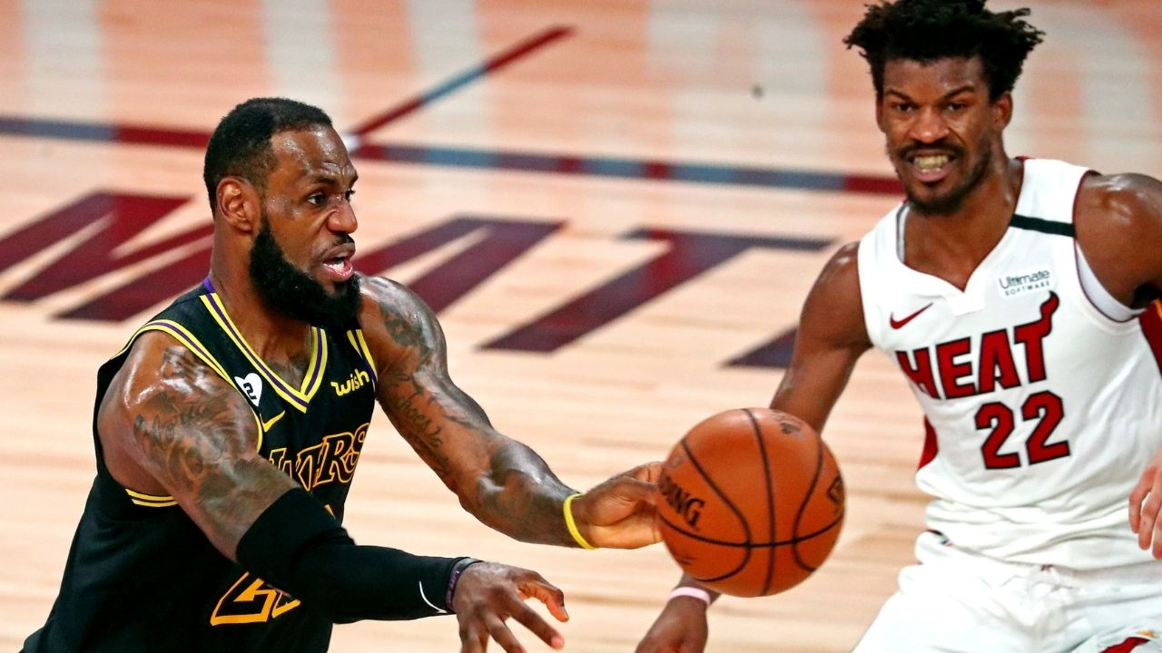 """""""LeBron James is the best all-around and most dynamic player the league has ever seen"""": Jimmy Butler explains what makes the Lakers MVP one of the toughest players to guard"""
