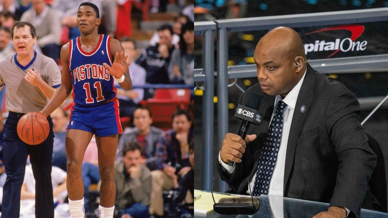 """Isiah Thomas and Joe Dumars' secret language was hoodrats!"""": When Charles Barkley hilarious called out the Pistons legends for peculiar body language"""